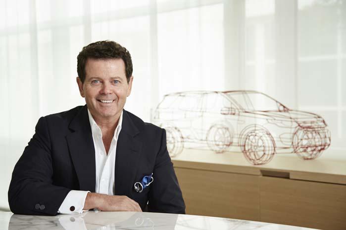 Designbossen Gerry McGovern har stået i spidsen for profileringen af Land Rovers nye modelprogram og han har mere på vej.