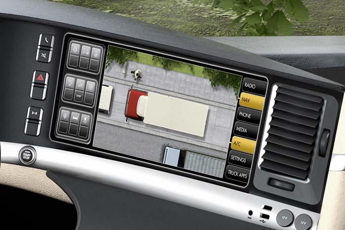 Med en overvågning af denne art behøver man ikke flere spejle på bilen.