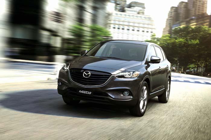 Mazdas SUV-program kommer nu til at tælle tre modeller fra den nye CX-3 til den store CX-9.