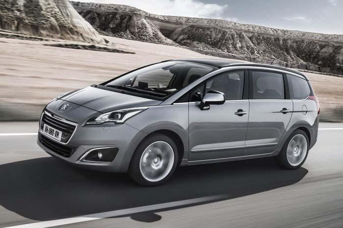Peugeot 5008 er som flere andre PSA-modeller baseret på selskabets PF2-platform.