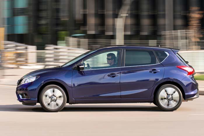 Nissan Pulsar har dansk premiere i weekenden.