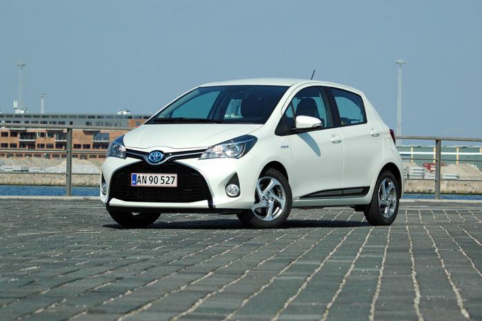 Sidste år blev der solgt 1435 hybrid biler i Danmark. Over 800 af dem var Toyota Yaris Hybrid