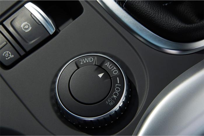 Det automatiske og lynhurtigt reagerende firehjulstræk, som vi har kendt fra Nissan Qashqai i årevis