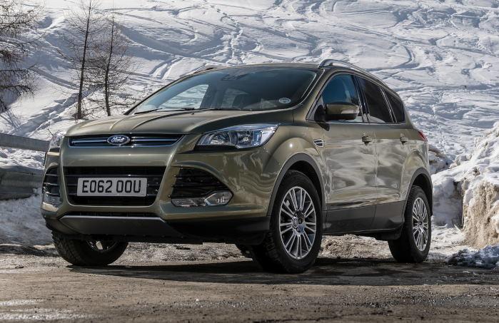 Kuga er den største i Fords europæiske SUV-palette og still going strong.