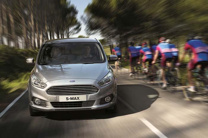 Ford S-Max er den første, som tilbydes med det nye Intelligent Speed Limiter-system.