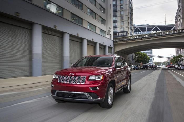 Fiat og Jeep's øverste chef vil have en Jeep-model, der kan konkurrere med Range Rover's fineste. Her ses Jeep-programmets dyreste nuværende model, Grand Cherokee
