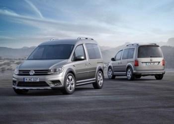 VW Cross Caddy skifter navn til Caddy Alltrack.