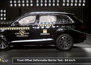 De store SUV'er fra Audi og Volvo klarer crashtests flot, viser de nyeste undersøgelser fra Euro NCAP.