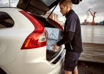 Har du en Volvo, kan du nu få leveret julegaver direkte i bagagerummet – i Gøteborg.