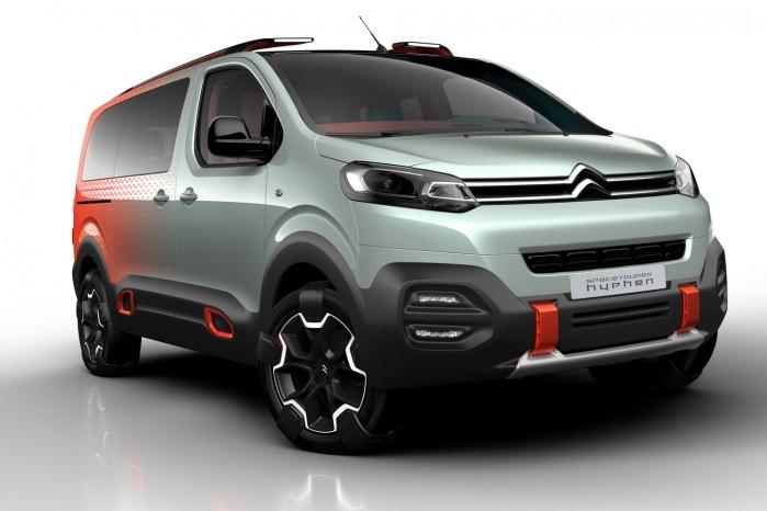 Bilen har firehjulstræk udviklet af specialisten Automobiles Dangel