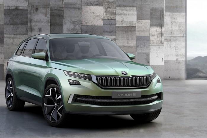 Skoda VisionS er et bud på en fremtidig SUV – og Skodas nye designsprog.