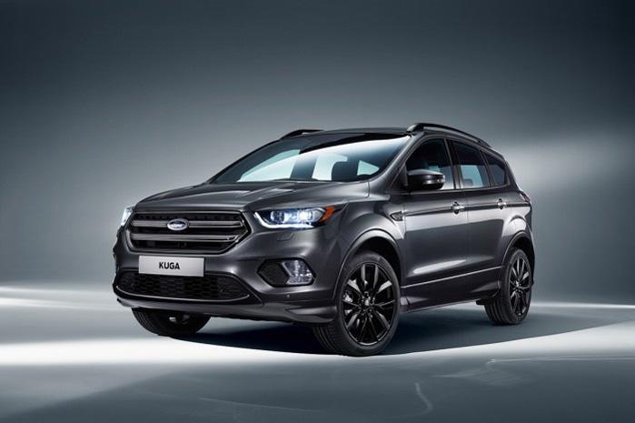 Ny Ford Kuga får lidt mere spræl i designet og et avanceret, dynamisk LED lygtesystem