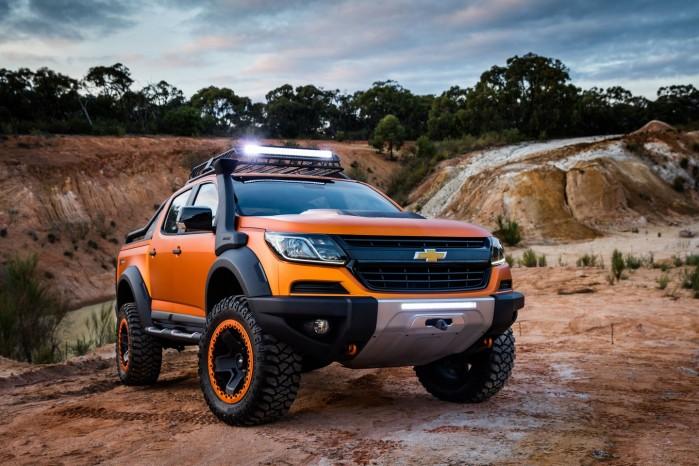 Chevrolet Colorado Xtreme er voldsom og klar til thailandske jungle.