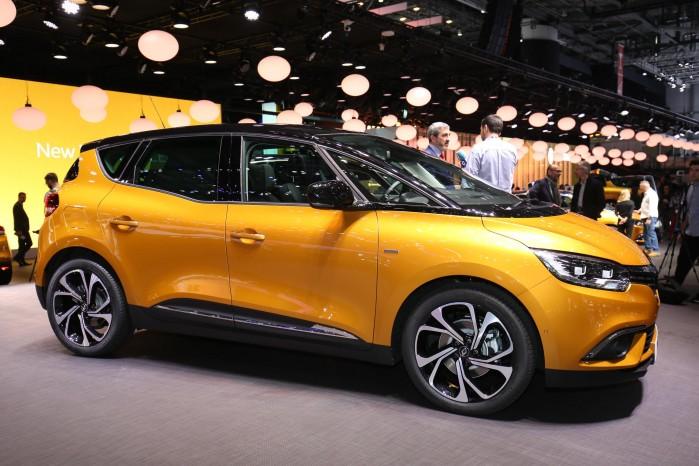 Den nye Renault Scenic ser ret fræk ud – 20 tommer hjul bliver standard.