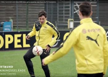 Dortmund får besøg af F2 Fresstylers
