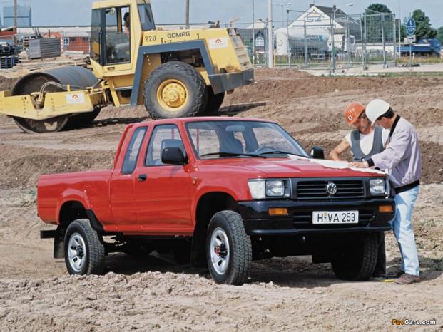 VW Taro var i virkeligheden en Toyota Hilux med andet mærke.
