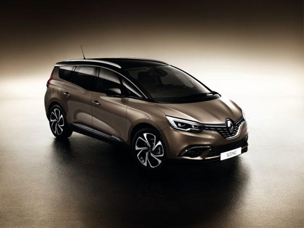 Nye Renault Grand Scenic vokser på alle leder.