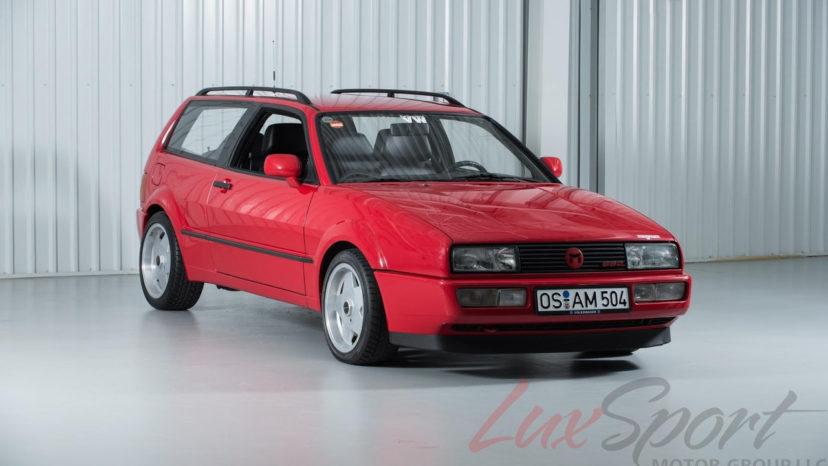 Volkswagen Corrado har alle muligheder for at blive en fremtidig klassiker. Og i Magnum-udgaven er den oven i købet praktisk.