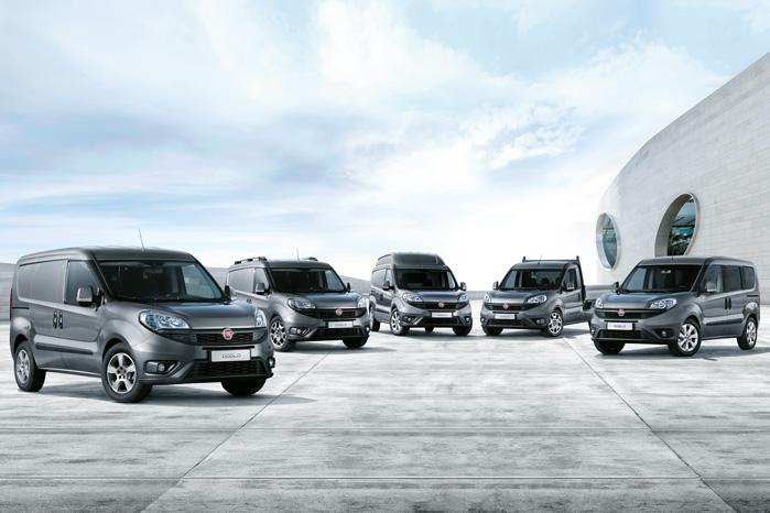 Fiat Doblo er Fiats eneste helt hjemmebyggede varebil