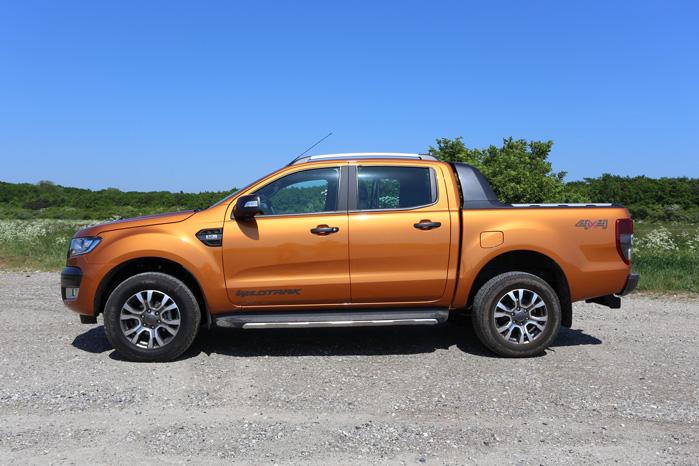 Ford har pyntet med et lidt ekstra detaljer og gjort meget for at fremhæve macho-looket