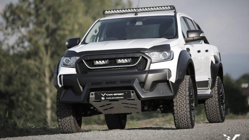 M-Sport gør Ford Ranger endnu mere bisset at se på.