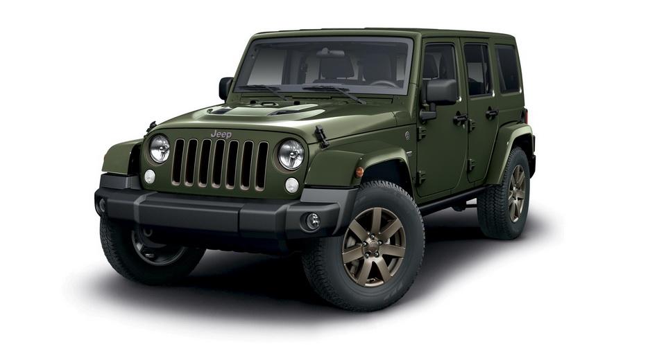 Jeep Wrangler får et par moderne tilføjelser i form af en Euro 6-dieselmotor og sideairbags foran.