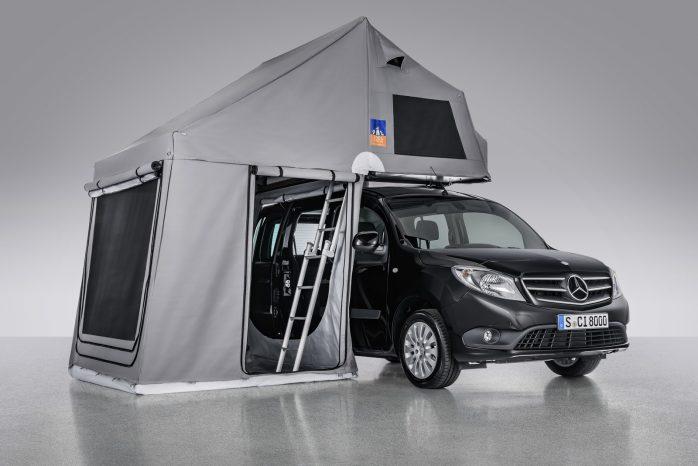 Et pop-op telt fra 3DOG kan slås op på få minutter og fylder næsten ingenting, når det ikke er i brug