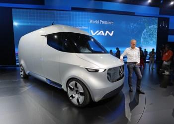 Volker Monhinweg præsenterede det ypperste inden for vareudbringning med sin nye Vision Van