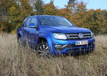 Et minimalt facelift markerer overgangen til ren V6-drift i Amarok