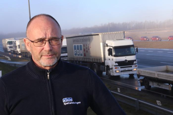 Om vinteren stiger antallet af ulykker med varebiler. Alt for mange skifter ikke til vinterdæk, siger kursuschef på FDM Sjællandsringen, Michael Malmquist