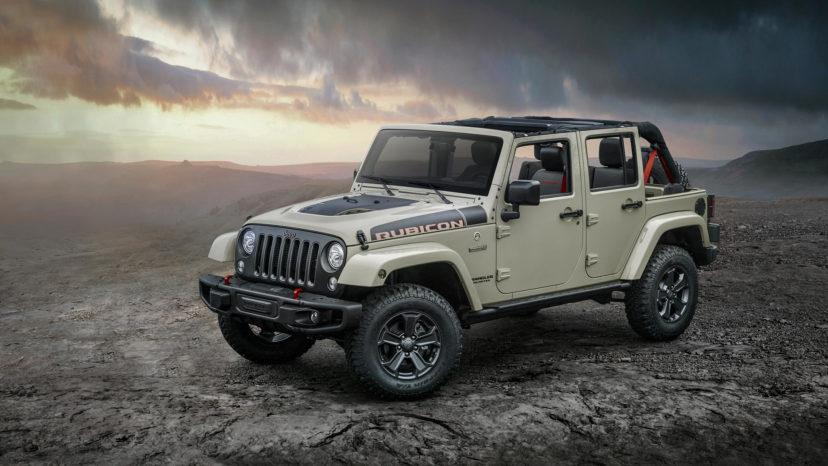 Dette er formentlig den sidste 'rigtige' Jeep Wrangler. I 2018 bliver den udskiftet med en ny model, men Rubicon Recon holder fanen højt.