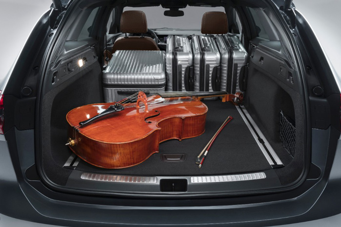 Varerummet er blevet 100 liter større i Opel Insignia  Sports Tourer