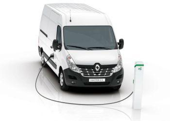 Renault Master Z.E. er et eksempel på en elektrisk varebil, der som reglerne er nu kræver stort kørekort