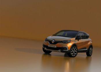 Renault Capturs front får større lighed med storebror Kadjar.