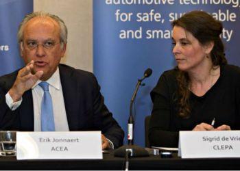 Erik Jonnaert og Sigrid de Vries udtrykker fælles bekymring for udfaldet af Brexit-forhandlingerne