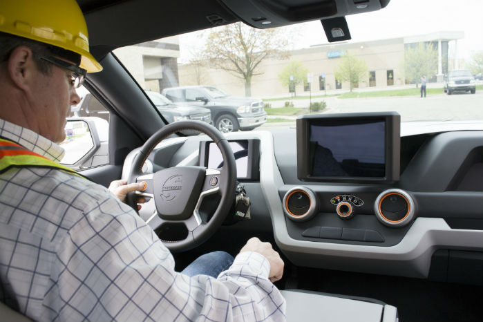 Bilens 60 kW's batteri skulle give en rækkevidde på 130 km, inden range extenderen slår til