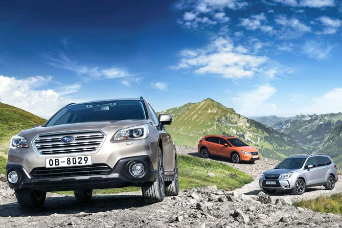 99,3 procent af alt Subaru bliver bygget med AWD, så der er en vis logik i, at de klarer sig godt i det marked