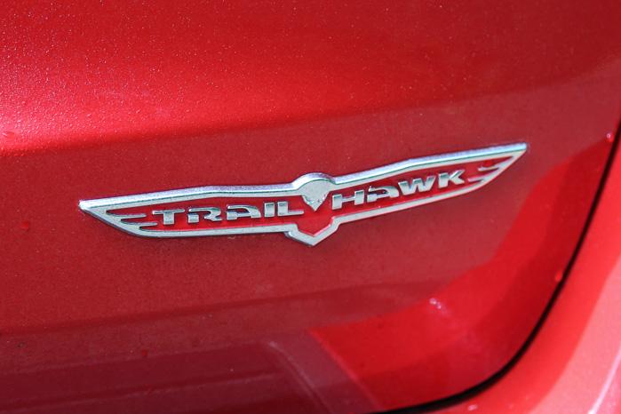 Men Trailhawk-logoet fortæller en anden historie...