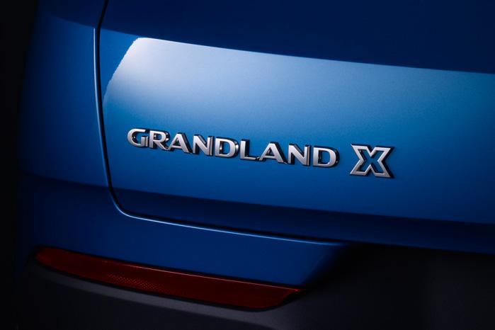 'X' betyder, at det er en SUV. Grandland X er altid forhjultrukket