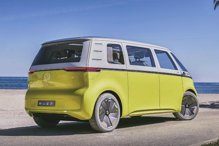 I.D. Buzz bliver VW's anden fuldt elektriske bil. Den første bliver en kompaktbil, der lanceres i 2020