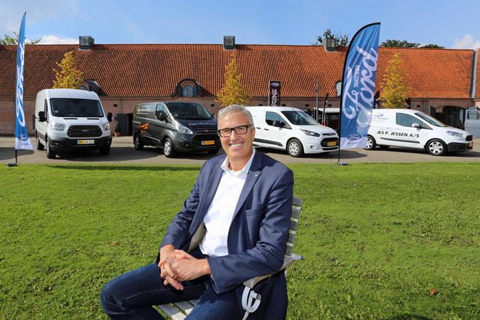 Ford har Danmarks bedste erhvervssælgere | Alt om varebiler - nyheder og test