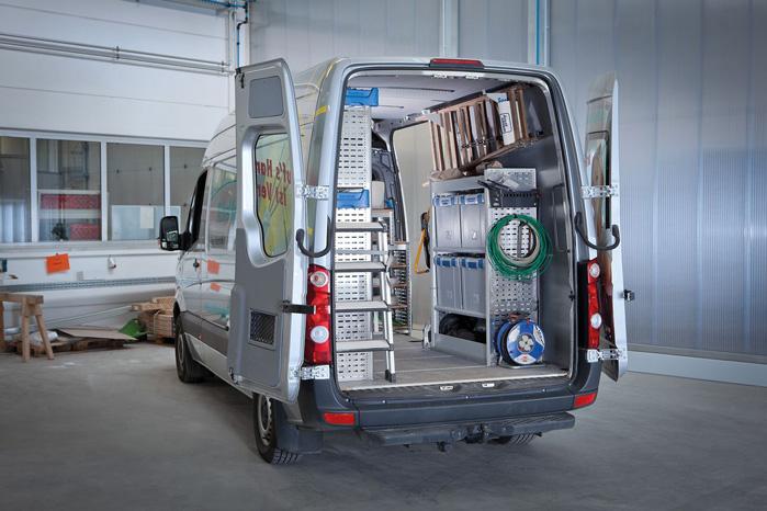 Globelyst er navnet på den mellemste og bedste sælgende serie, der kan tilpasse til alle varebiler - høje...