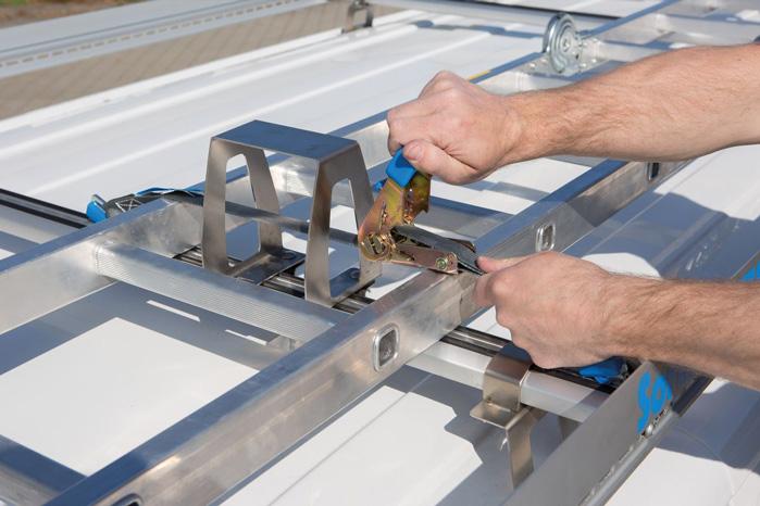 ProSafe gør det nemmere at sikre sit gods på taget