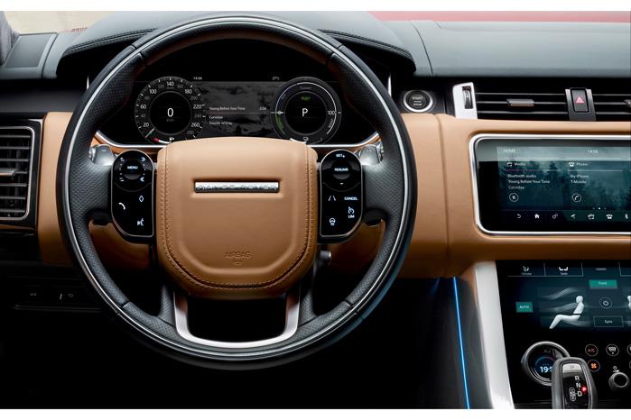 Minimalistisk og futuristisk, siger Jaguar Land Rover. Elegant og ekstravagant, kunne man tilføje