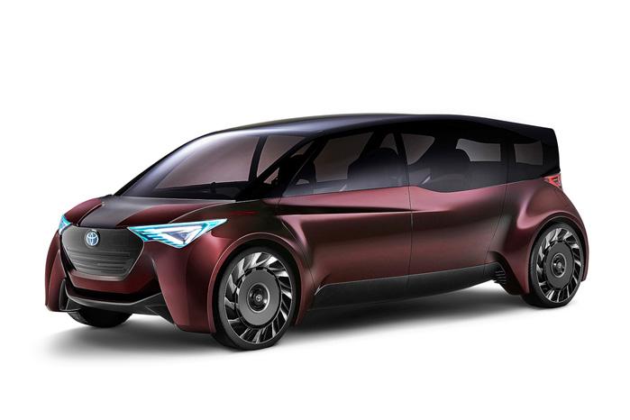 1000 km er der i brinttanken på Toyotas konceptbil Fine Comfort