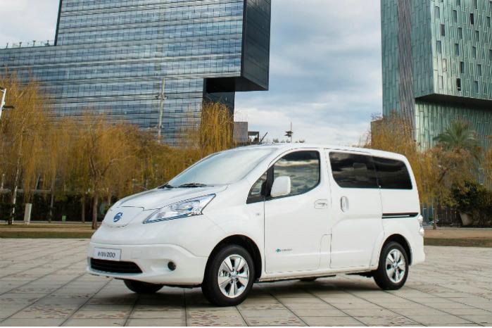 Med det nye batteri får Nissan e-NV200 en rækkevidde på 280 km i følge NEDC-normen