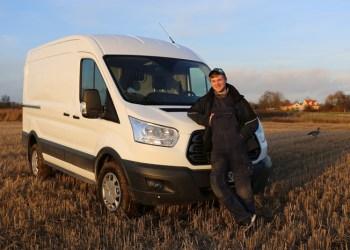 Det er nice med 170 hk og firehjulstræk, når man har en trailer efter, men den støjer, siger Jakob Munk