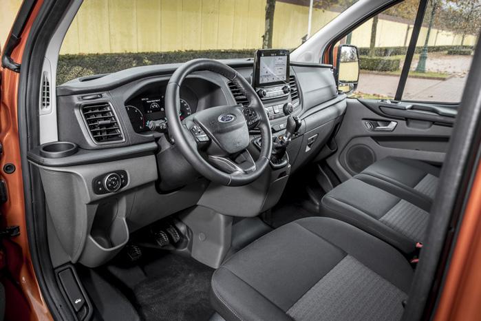 Cockpittet slægter den nye Fiesta på