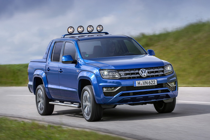 Volkswagen Amarok blev igen pickup of the year