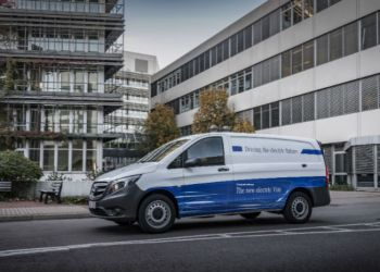 Mercedes eVito lanceres i første halvdel af 2018 med et beskedent batteri på 41 kWh